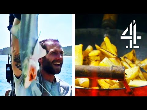 How To Cook Shark & Chips On A Desert Island
