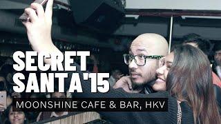 Jappy Bajaj Performing Live at Secret Santa'15 at Moonshine Cafe & Bar, Hauz Khas Village.