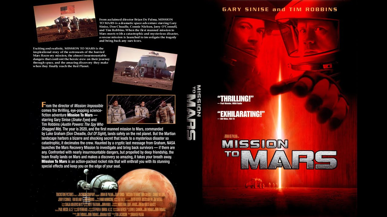 Mission to Mars 2000 Movie Review Underrated Film