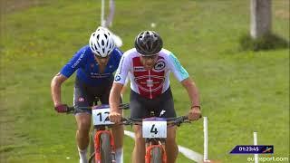 European Championship Mountain Biking 2018 | Finish