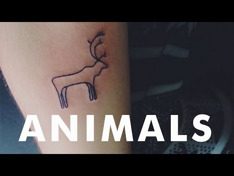 20 Little Animal Tattoos