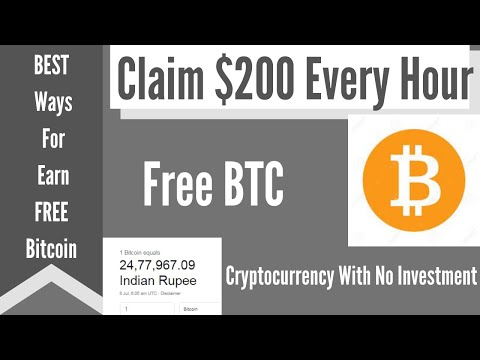 Free Bitcoin Faucet - - Free BTC||Claim $200 Every Hour ||BEST Ways  For  Earn FREE Bitcoin