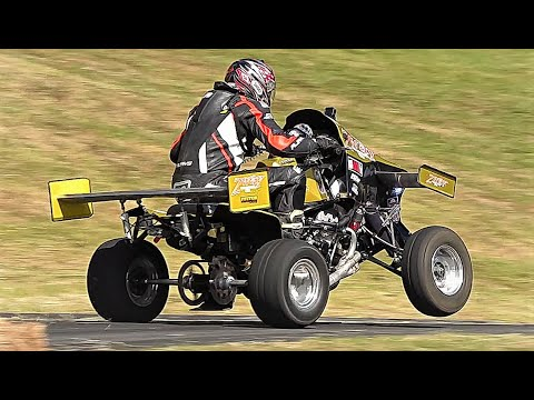 This Wild Hillclimb Quad Has 140 HP and Active Aero