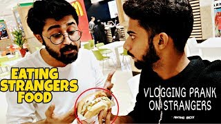Vlogging And Eating People
