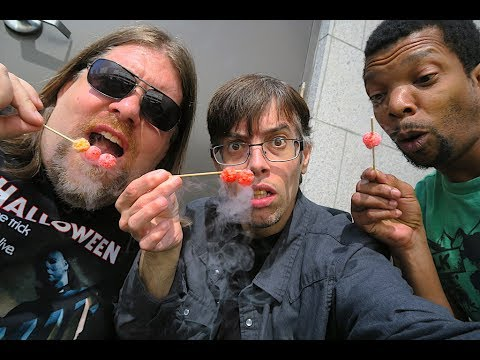 Eating Liquid Nitrogen !!! Blu Ray Hunting