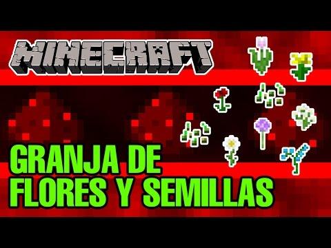 Granja flores y semillas v.2 / Minecraft 1.11.2