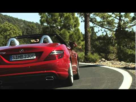 2012 Mercedes-Benz SLK driving and static footage