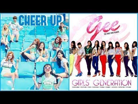 CHEER UP X GEE - GIRLS GENERATION & TWICE (MASHUP)