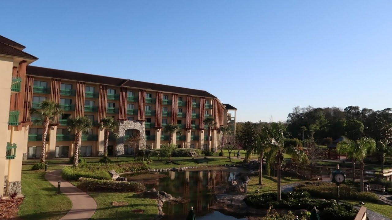 shades of green on walt disney world resort tour hotel grounds