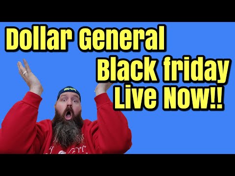DG Dollar General Black Friday Deals Available Now! 2019 Black Friday Breakdown Part 1