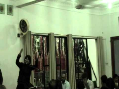 Jashan Imam Hussain a.s at masjid e yesrab Defence Housing authority DHA 2011