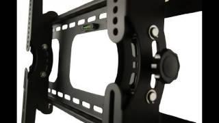 MOUNT-IT! NEW Universal Heavy Duty Premium Tilt Tilting Wall Mount Bracket For Samsung, Sony,