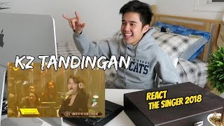 "KZ TANDINGAN - ""Rolling in the Deep"" The Singer 2018 (Reaction Video)"