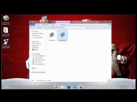 Como colocar Climas no desktop (Chuva e Neve).mp4