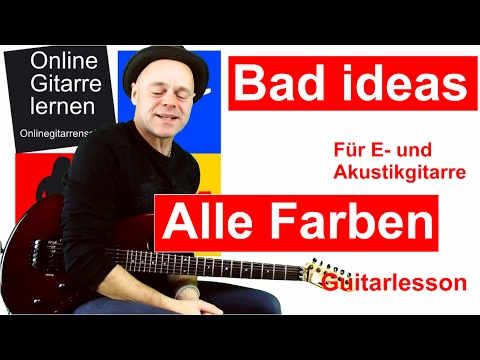 bad ideas alle farben f r e und akustikgitarre gitarre. Black Bedroom Furniture Sets. Home Design Ideas