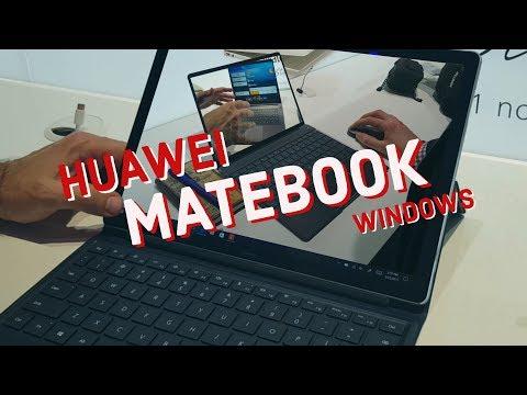 HUAWEI MATEBOOK: stile Macbook Apple con Windows | Anteprima