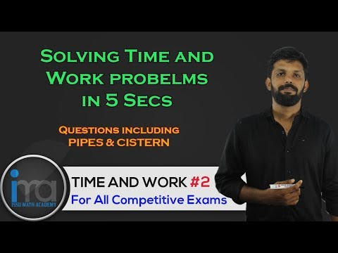 Time and Work Shortcut Tricks #2 | Civil Police Officer | Kerala PSC Degree Level Maths
