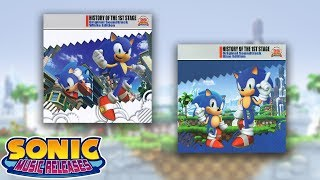 Sonic Music Releases - History of the 1st Stage