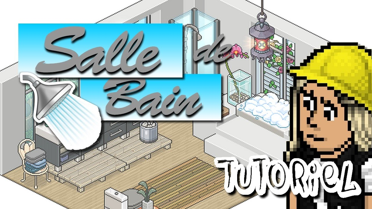 Habbo Tutoriel Salle De Bain Youtube