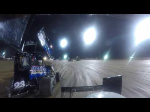 Landon Crawley Clip of Feature from I-30 Speedway
