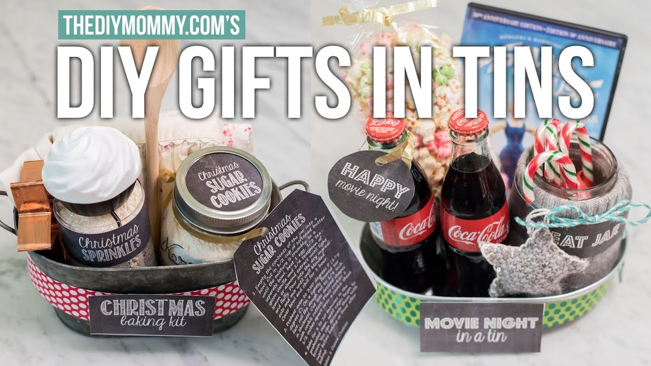 Gift Basket Ideas For Christmas The Diy Mommy Youtube