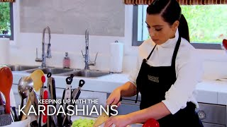 KUWTK | Can Bruce Jenner and Kim Kardashian Learn to Cook? | E!
