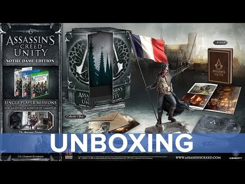 Assassin's Creed: Unity - Notre Dame Edition Unboxing - Eurogamer
