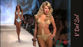 V Del Sol Swimwear 2010 - Fashion Runway Show with Bikini Sexy Models @ MBFW SWIM | EXCLUSIVE (2009)