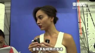 緋聞旺事業 Mandy Lieu晒線拍廣告