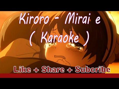[ Karaoke ] Lagu Sedih Jepang Ibu & Anak bikin baper [ Kiroro - Mirai e ]