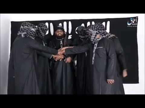 La Vidéo De Bayah  #SriLanka #ColomboTerrorAttack  #IslamicState  #ISIS Amaq News Agency