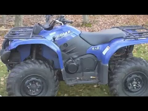 Yamaha Kodiak 400 ATV Ride  Review  YouTube