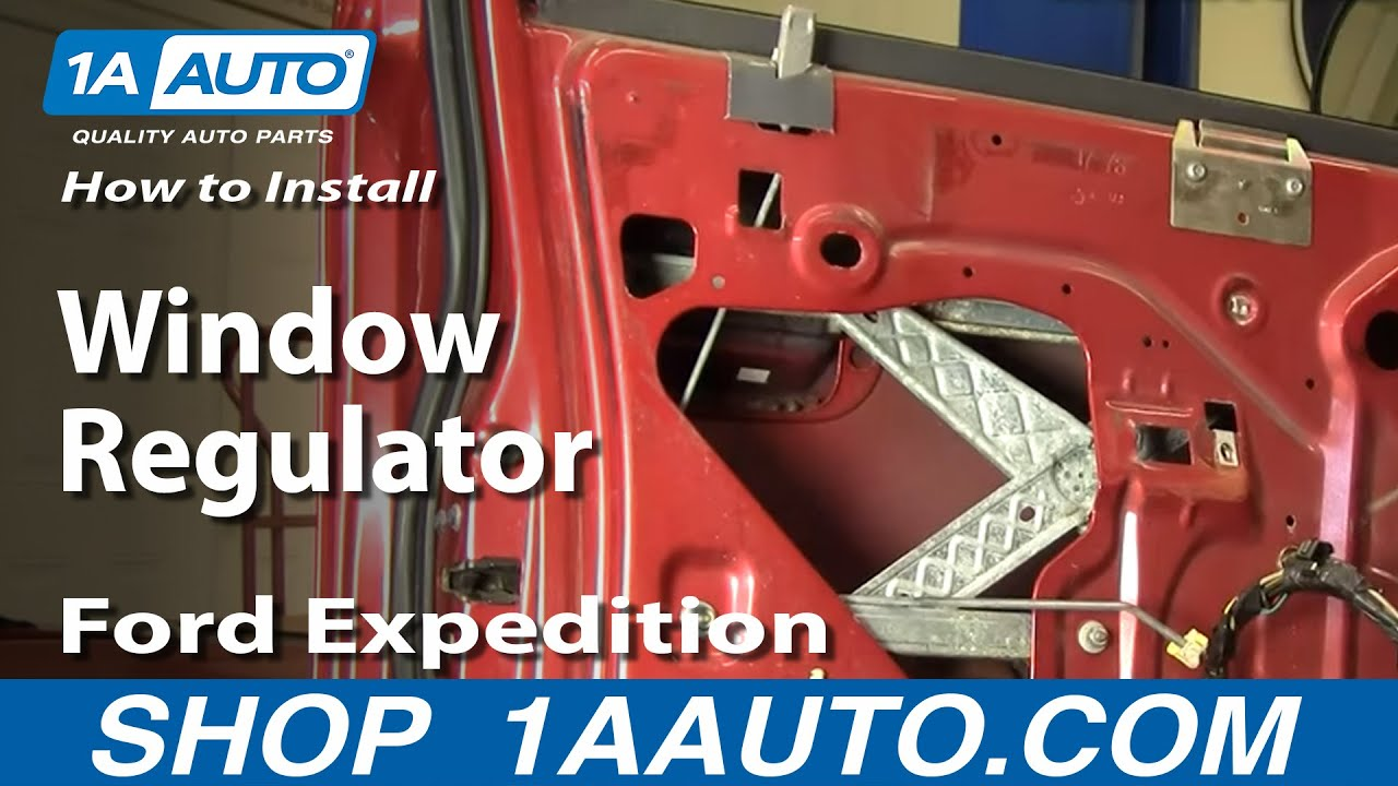 2000 Ford F150 Power Window Wiring Diagram Blank Microscope To Label How Install Replace Regulator 97-02 F-150 Expedition 1aauto.com - Youtube
