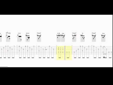 Guitar Tab - Intro - Stairway to Heaven - Chords and tab - Play Along