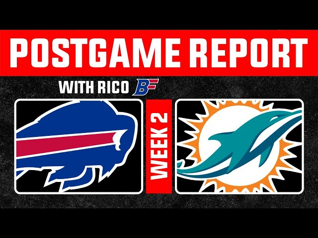 The Buffalo Bills Absolutely embarrass the Miami Dolphins