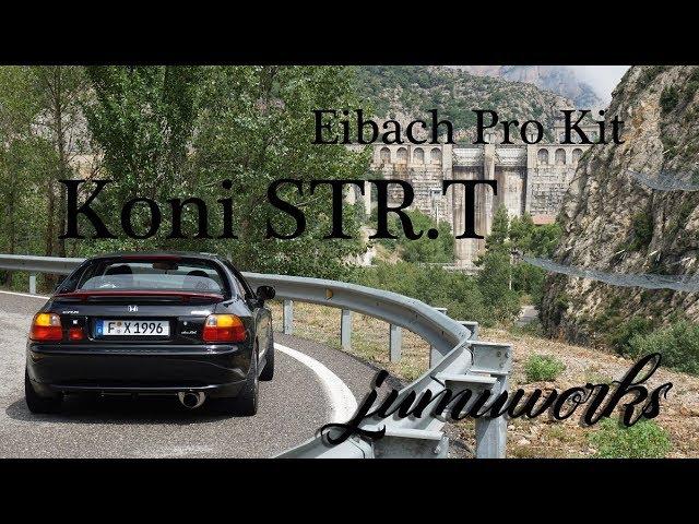3000km Review - Koni STR.T mit Eibach Pro Kit am CRX del sol