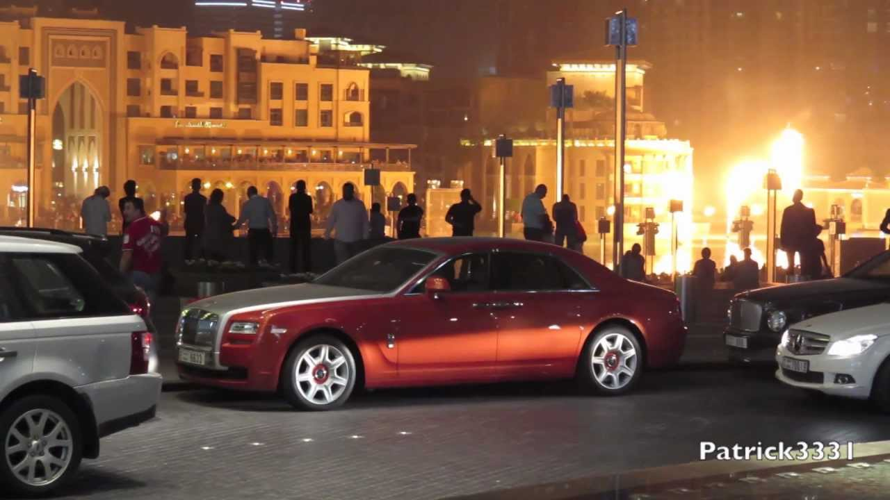 Rolls Royce Ghost In Blood Orange