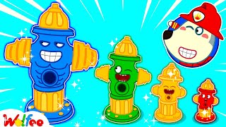 Firefighter Wolfoo Learns About Types of Fire Hydrants - Kids Playing Professions | Wolfoo Channel