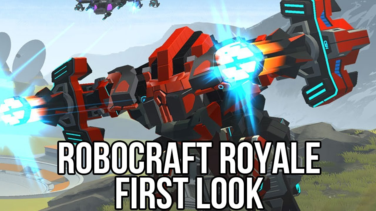Robocraft Royale (Online Action Game): Watcha Playin ...