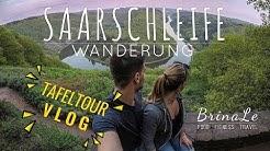 Wir wandern im Saarland VLOG   Tafeltour: Von Mettlach bis zur Saarschleife   #ExploreSaarland