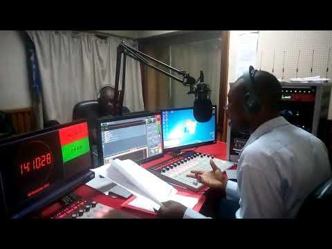 ANTHONY JAMES TAMBALA AKIWA STUDIO KUTAMBULISHA AWARDS ZA UTAMADUNI NCHI KENYA NAIROBI