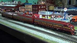 mth dcs o scale train layout update spring 2015