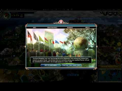 Diplomatic Victory Civ 5