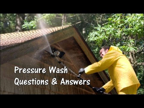 Reload Q and A - Pressure Wash Business Info - Answers Are The Same - Great Refresher Too