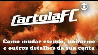 Quer trocar o escudo, uniforme e outros detalhes da sua conta rapidinho, sem trabalho no Cartola FC.
