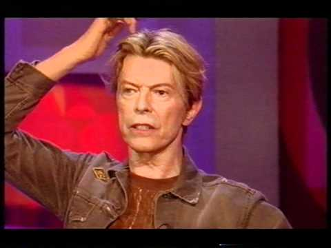 DAVID BOWIE-INTERVIEW-JONATHAN ROSS-PART 2 - 2003: David Bowie talks to Jonathan Ross.https://www.youtube.com/watch?v=cYM_Y8fk0Go     https://www.youtube.com/watch?v=BeL0eAGV3Ew