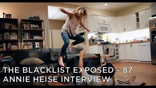 The Blacklist Exposed – S4 – Annie Heise Interview