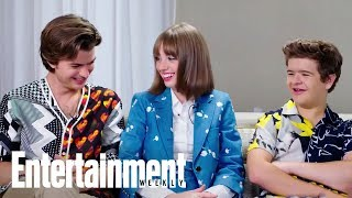 The Cast Of 'Stranger Things' Might Be Obsessed With Mall Pretzels | Entertainment Weekly