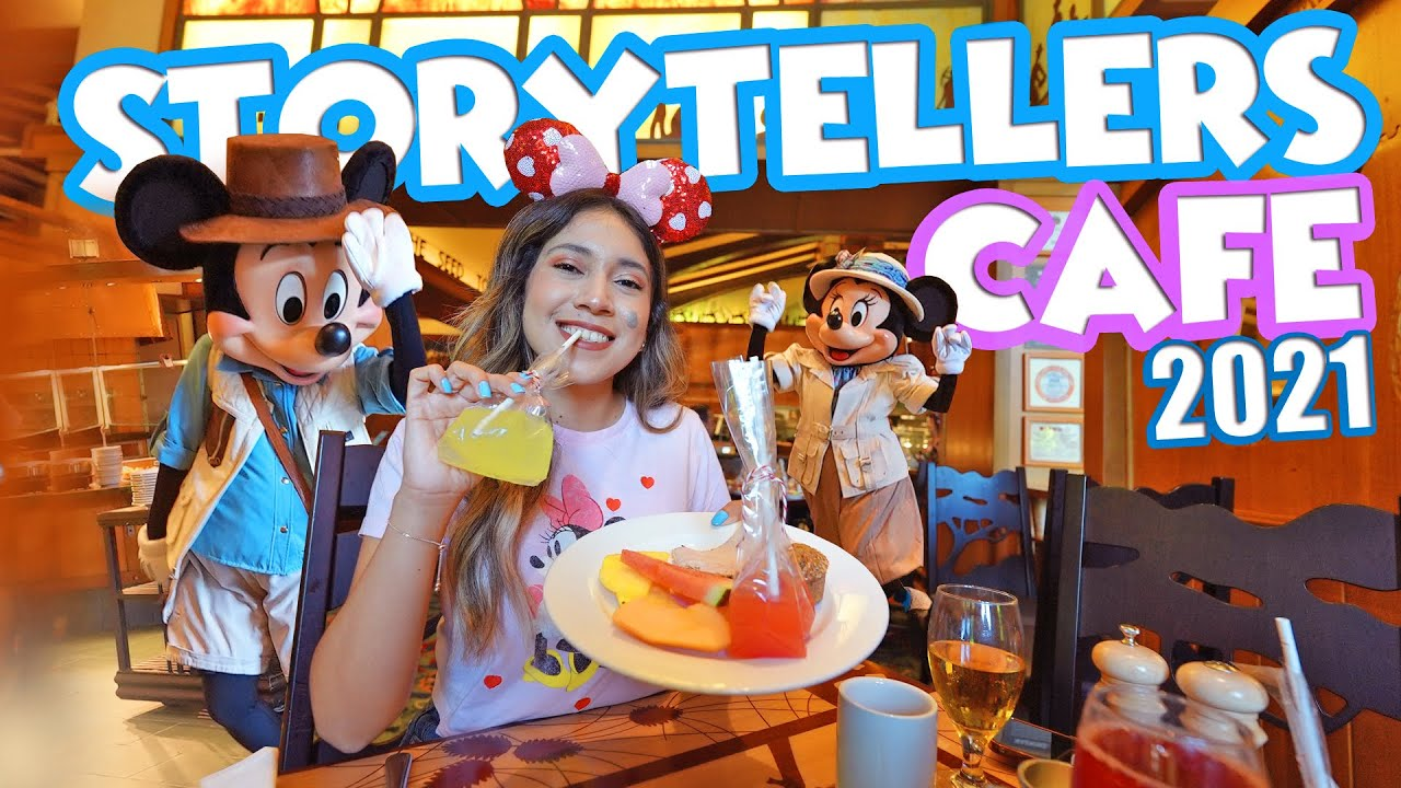 Character Dining Is Back At Disney's Storytellers Cafe With Buffet Breakfast! Disneyland Resort