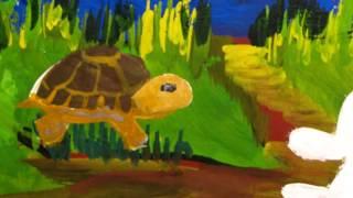 Михалков Заяц и Черепаха